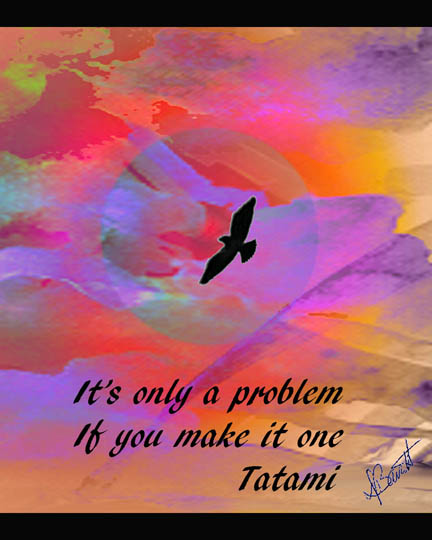 It's only a problem.... by Deb Barrett