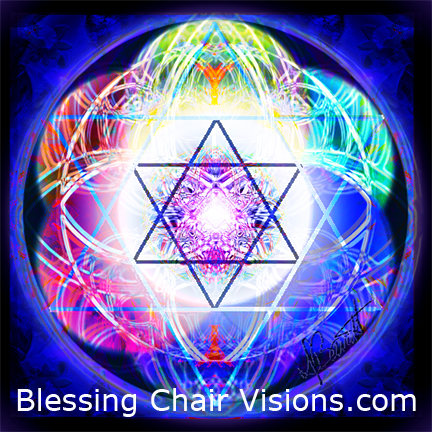 Mandala, One With Divine Source by Blessing Chair Visions.com