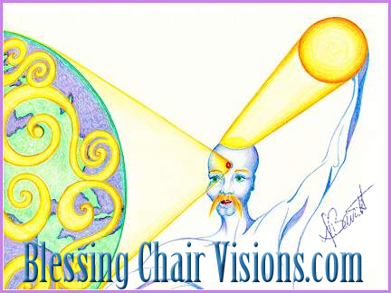 Send Love by Deb Barrett / Blessing Chair Visions.com