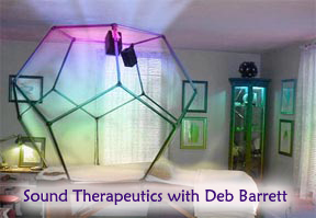 Vibro-Acoustics with Deb Barrett at Sound Therapeutics, Duxbury, ma.