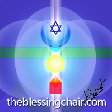 Breathe into this image, enter and wear it as a garment of light.