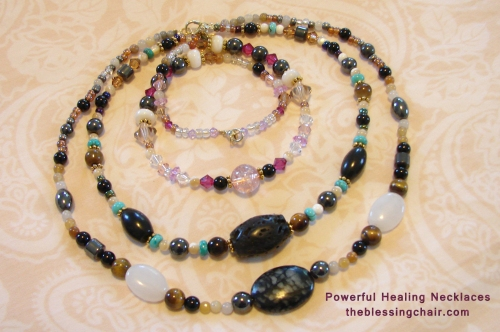 Feel the power, strength, protection and harmony that is embedded in your power necklace.