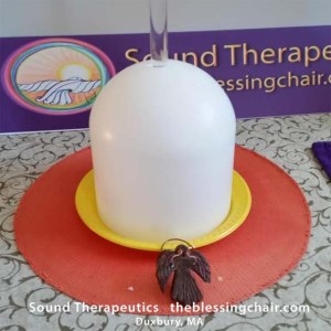 F# High Heart Practitioner's bowl at Sound Therapeutics.